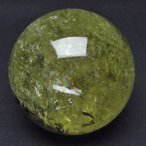 水晶玉 シトリン 石 水晶ファントム 丸玉 72mm  t63-5309|seian