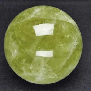 シトリン水晶 丸玉 67mm  パワーストーン 天然石 t63-5764|seian