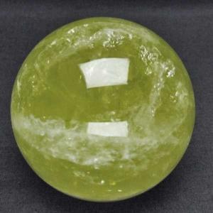 シトリン水晶 丸玉 66mm  パワーストーン 天然石 t63-5776|seian