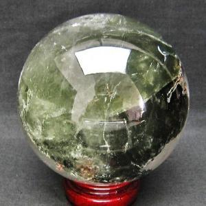 2.1Kg ガーデンクォーツ(庭園水晶) 丸玉 115mm  t637-2716 seian