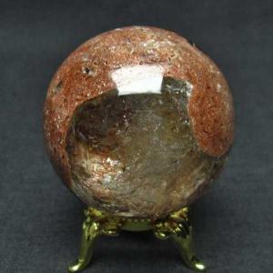 ガーデンクォーツ(庭園水晶) 丸玉 40mm  パワーストーン 天然石 t637-3637|seian