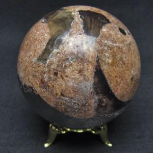 ガーデンクォーツ(庭園水晶) 丸玉 58mm  t637-3667|seian