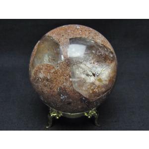 ガーデンクォーツ(庭園水晶) 丸玉 67mm  t637-3673 seian 02