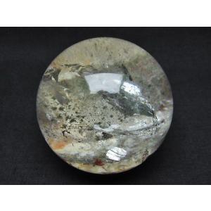 ガーデンクォーツ(庭園水晶) 丸玉 67mm  t637-3673 seian 03