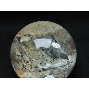 ガーデンクォーツ(庭園水晶) 丸玉 67mm  t637-3673 seian 04