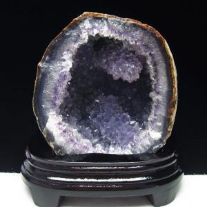 1.1Kg ウルグアイ産 アゲート水晶ドーム t640-1926