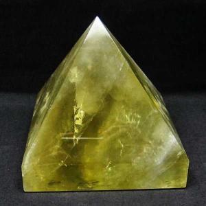 1.9Kg シトリン水晶ピラミッド パワーストーン 天然石 t648-3267|seian