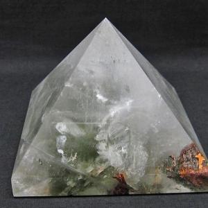 1Kg ガーデン (庭園) 水晶ピラミッド パワーストーン 天然石 t648-3460|seian