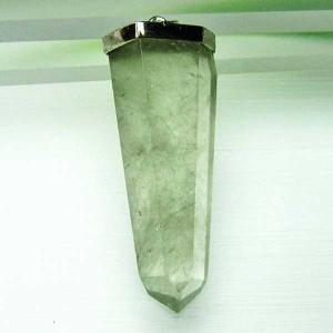 グリーンルチルクォーツ ペンダント  パワーストーン 天然石 t696-1184|seian