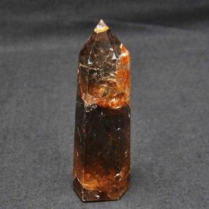 ライトニング水晶 六角柱 t705-5100|seian