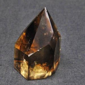 ライトニング水晶 六角柱 t705-5176|seian