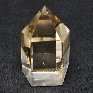 ライトニング水晶 六角柱 t705-5185|seian