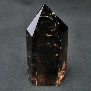 ライトニング ガーデンクォーツ(庭園水晶)  六角柱 t705-5759 seian