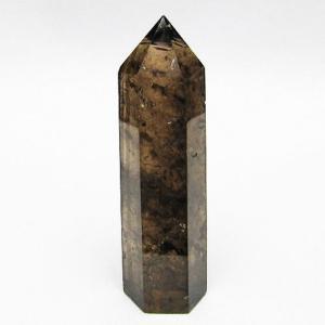 ライトニング水晶 六角柱 t705-5796 seian