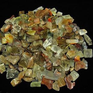 ルチルクォーツ(金針ルチル水晶)さざれサイズ:大 パワーストーン 天然石 t716-3|seian