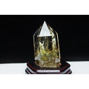 虹入り シトリン水晶 六角柱 パワーストーン 天然石 t719-2858|seian|02