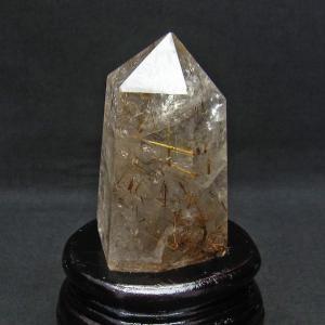 ゴールドタイチンルチル 六角柱 t725-1854|seian