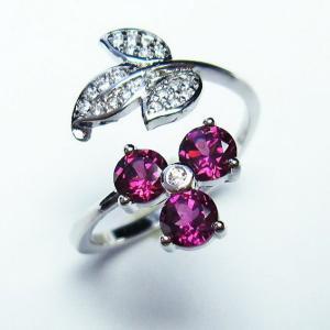ガーネット 指輪  t75-5808 seian