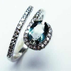 トルマリンルチル 指輪 t75-5838 seian