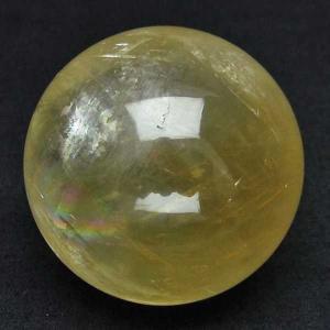 カルサイト 丸玉 53mm  パワーストーン 天然石 t758-1157 seian