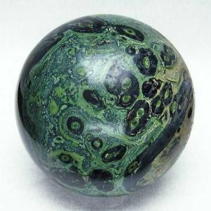 マラカイト 丸玉 90mm  パワーストーン 天然石 t762-1612|seian
