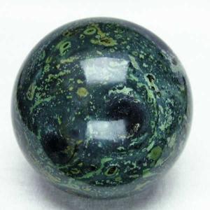 マラカイト 丸玉 61mm  パワーストーン 天然石 t762-1863|seian
