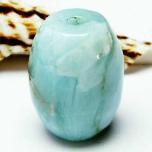 ラリマー天珠 パワーストーン 天然石 t77-3246|seian