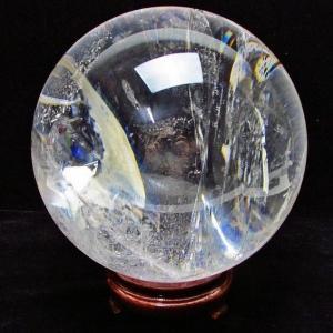 水晶玉 ヒマラヤ水晶 丸玉 180mm 8.2Kg パワーストーン 天然石 t801-363|seian