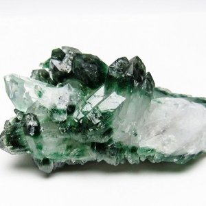 緑水晶 グリーンクォーツ クラスター t802-1547 seian