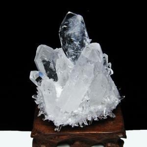 レムリアンシード水晶クラスター t802-1929
