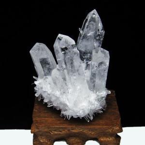 レムリアンシード水晶クラスター t802-1941