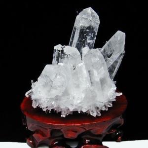 レムリアンシード水晶クラスター t802-1945