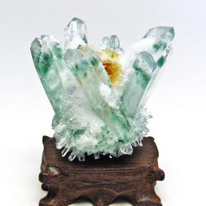 緑水晶 グリーンクォーツ クラスター t802-2754|seian