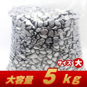 5Kg テラヘルツ鉱石 高純度 さざれサイズ:大 パワーストーン 天然石 t864-9|seian