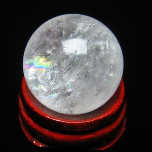 ヒマラヤ水晶 丸玉 24mm  t91-4838|seian