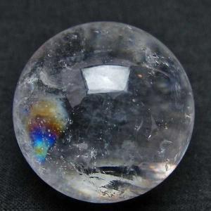 ヒマラヤ水晶 丸玉 29mm  パワーストーン 天然石 t91-5885|seian