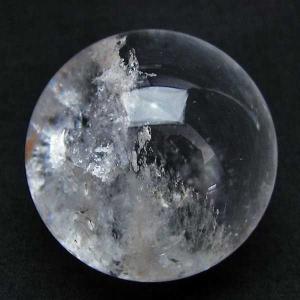 水晶玉 ヒマラヤ水晶 玉42mm 虹入り パワーストーン 天然石 t91-5891|seian
