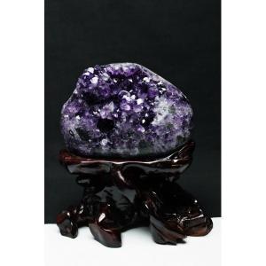 アメジストクラスター 原石 1.2Kg ウルグアイ産 アメジストクラスター パワーストーン 天然石 t95-9225|seian