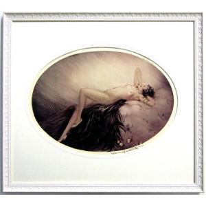 ルイ・イカール 作品  「イヴ(EVE)」 美術印刷 複製画 額付き 新品 アールデコ レトロ 人物画 美人画 B3334|seibidou-surprise
