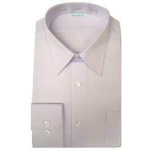 スクールシャツ カッターシャツ  長袖 品番A-500 色白 サイズ 150B 160B 素材 ポリ65%/ 綿35%|seifuku27