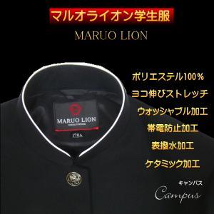 学生服 学ラン 150A〜170A MALUO LION マルオライオン学生服 ラウンドトリムカラー...