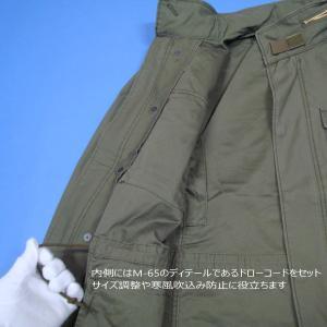 アルファインダストリーズ M-65 MOD TA1337-221 Aグリーン フィールドジャケット ALPHA|seifuku27|12