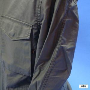 アルファインダストリーズ M-65 MOD TA1337-221 Aグリーン フィールドジャケット ALPHA|seifuku27|03
