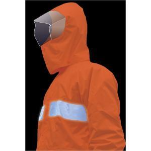 通学レインコート、作業用カッパ(雨具)メンズ(セパレートタイプ、上着とズボン)6L・大きいサイズは、...