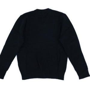 学生セーターM〜3L 濃紺 学校ニットセーター ブイネック通学セーター ウール30% 大きいサイズ  /洗濯機で洗える /メール便対応|seifukuomakase|05