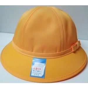 通学帽子(黄色) 女の子用 日本製 洗えるメトロ型小学生帽子...
