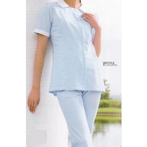 医療白衣 ソワンクレエ フォーク(FOLK) ナースウェア 2007FK チュニック サイズ:S〜4L|seifukusimasenka