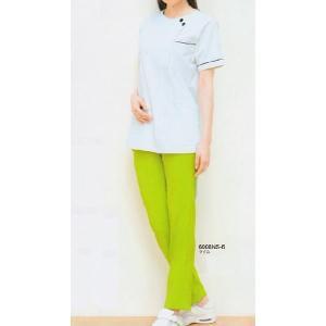 チュニック S〜4L 看護衣 美容制服 医療 白衣 2012CR|seifukusimasenka