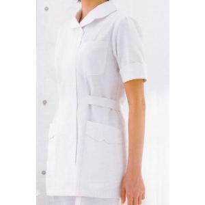 医療白衣 ソワンクレエ フォーク(FOLK) ナースウェア 2686 チュニック S〜4L|seifukusimasenka