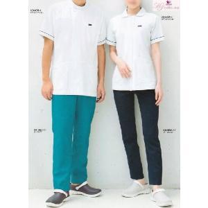 医療白衣 スクラブ フォーク(FOLK) 5013SC ストレートパンツ【男女兼用】 S〜4L|seifukusimasenka
